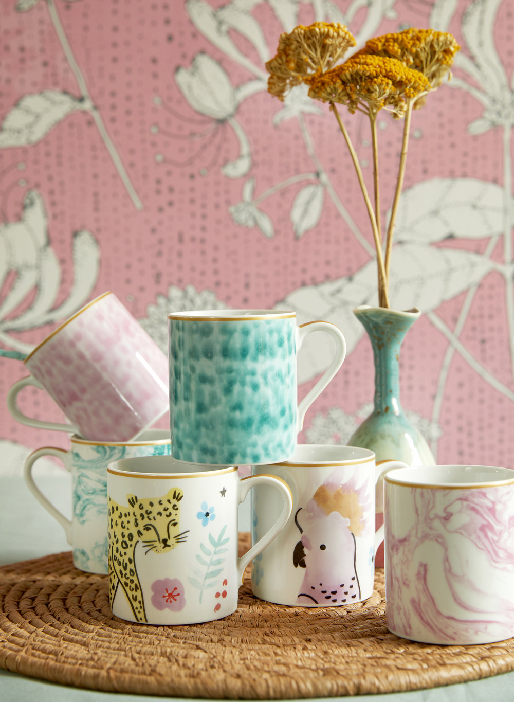 RICE everyday magic porcelain collection