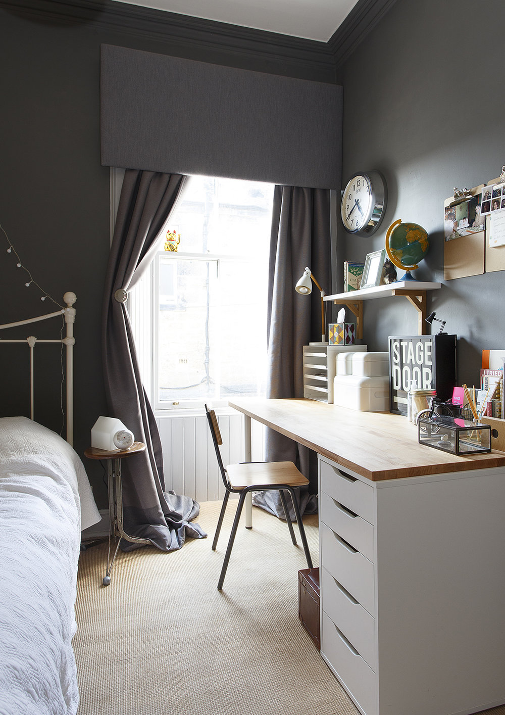 Tour a Bright Eclectic Family Home in Scotland