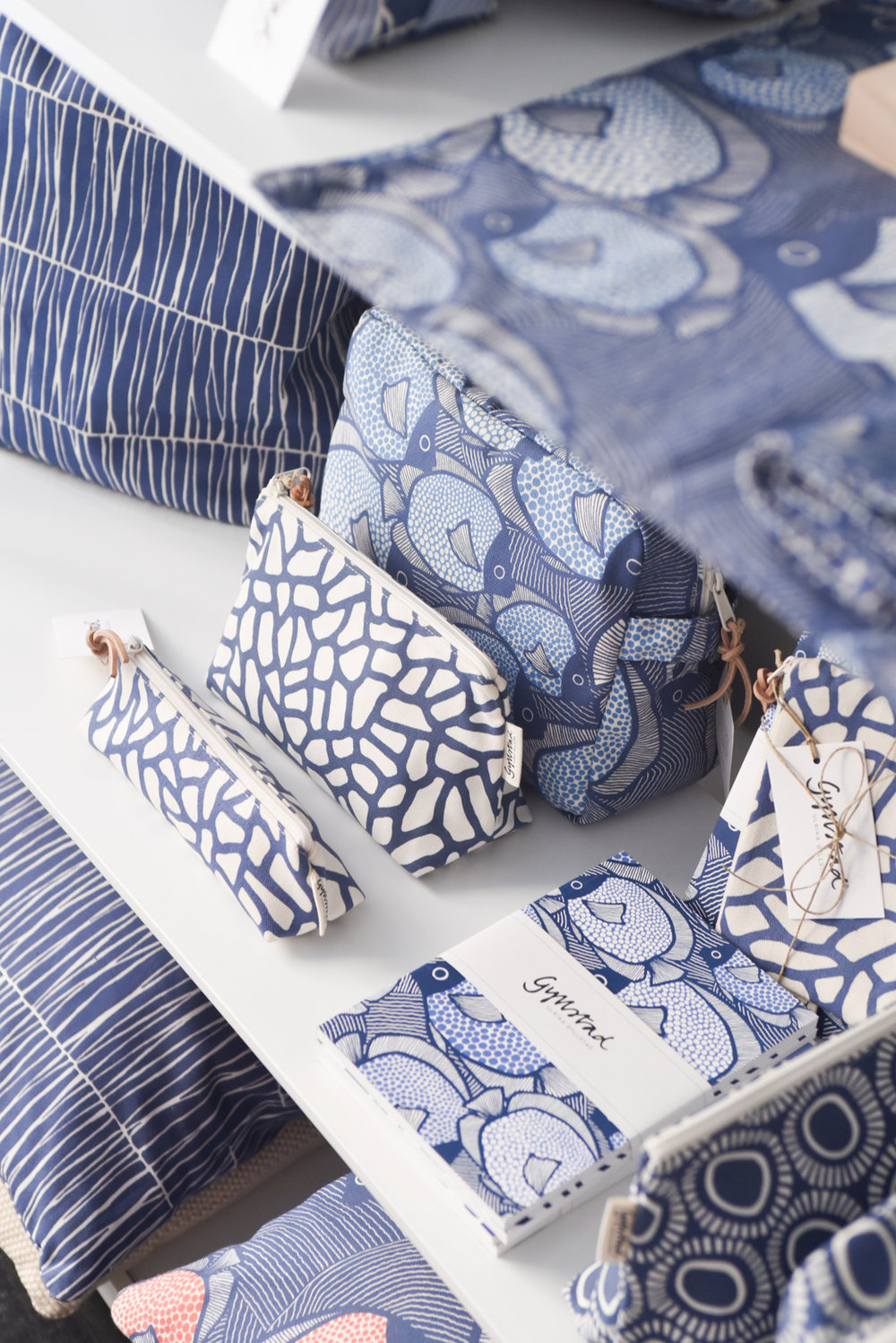 Tour The Studio of Swedish Textile Designer Ulrika Gyllstad