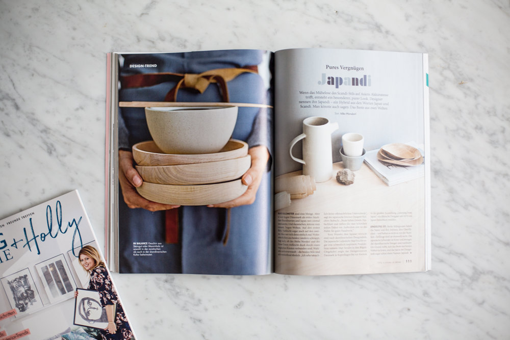Each issue will feature an in-depth column about a current trend in decor, detailing roots and details about the trend - for this issue, we've dug deep into JAPANDI - the how, the why, the what.