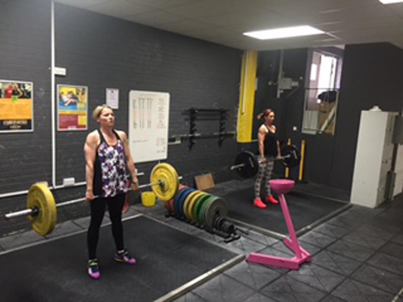 Training At Underground Gym