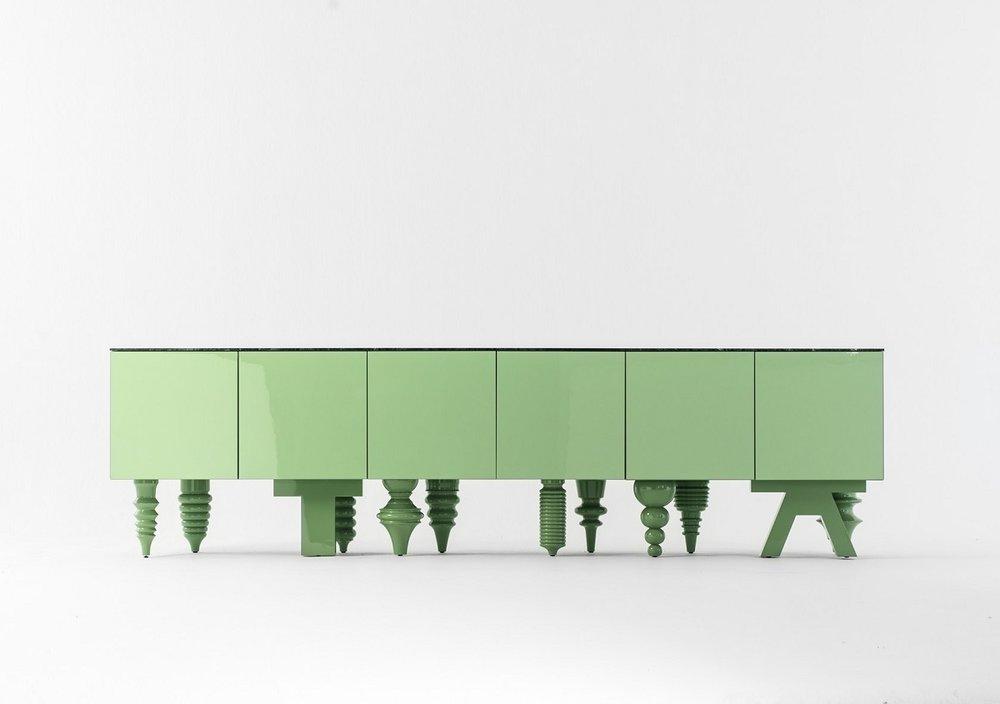 Special Edition Multileg Cabinet, Jaime Hayón, 2016.