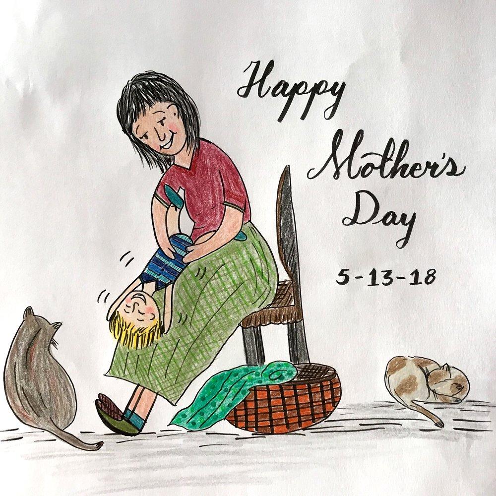 Happy motherÔÇÖs day. Moncharis 2018.jpg