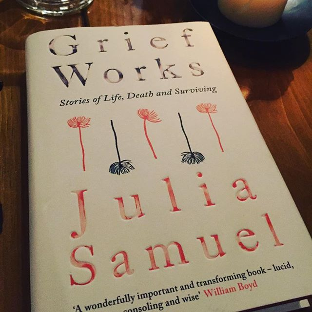 At the book launch tonight of my clever friend #juliasamuel #griefworks @penguinukbooks @britishvogue