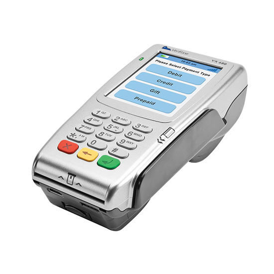 Vx680 card payment acceptance terminal