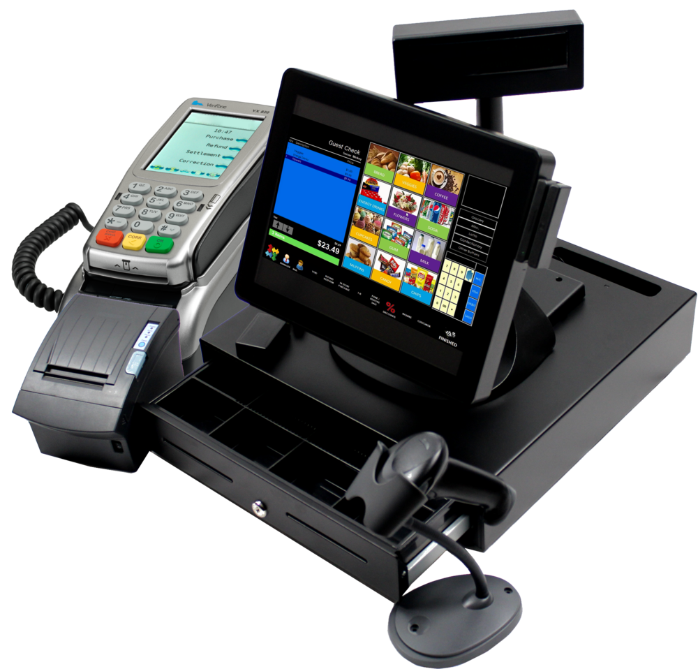 integrated point of sale system