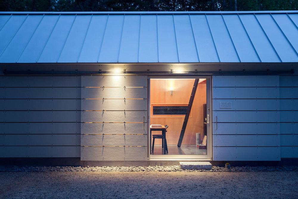 Long Studio Entry   One Door Closed | Dusk