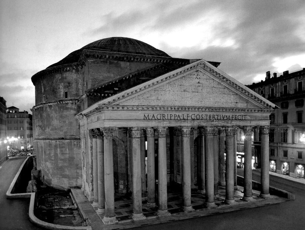 Pantheon Exterior View
