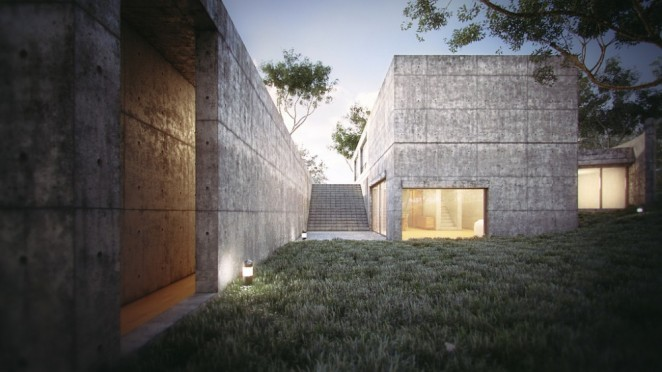 Tadao Ando Koshino House