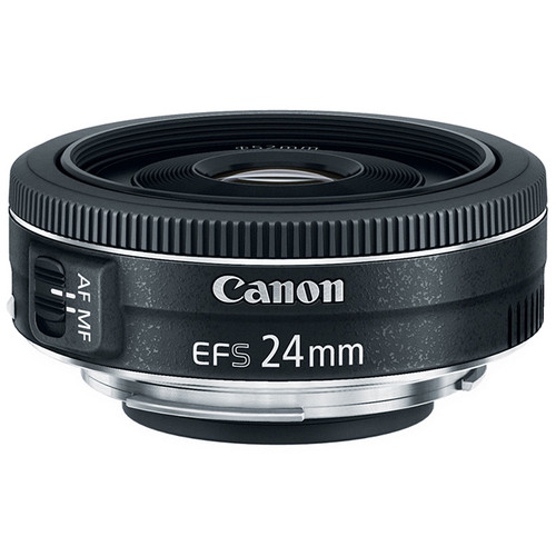 Canon 24MM EF-S/f 2.8 $149 (of the two, this is the wider angle) - effective focal length on 70D = 38MM