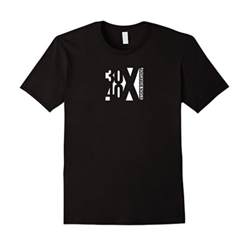 30X40 Abstract Logo Graphic T-shirt