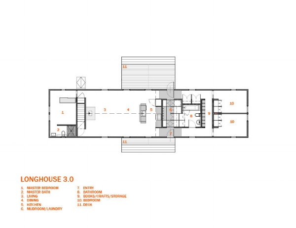 Superb LONGHOUSE 3 0 PLAN