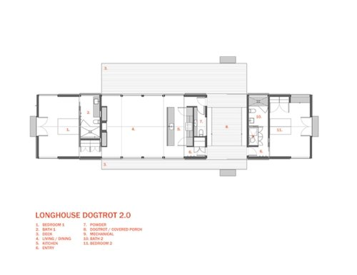 longhouse dogtrot 2.0 (construction) | 30x40 design workshop