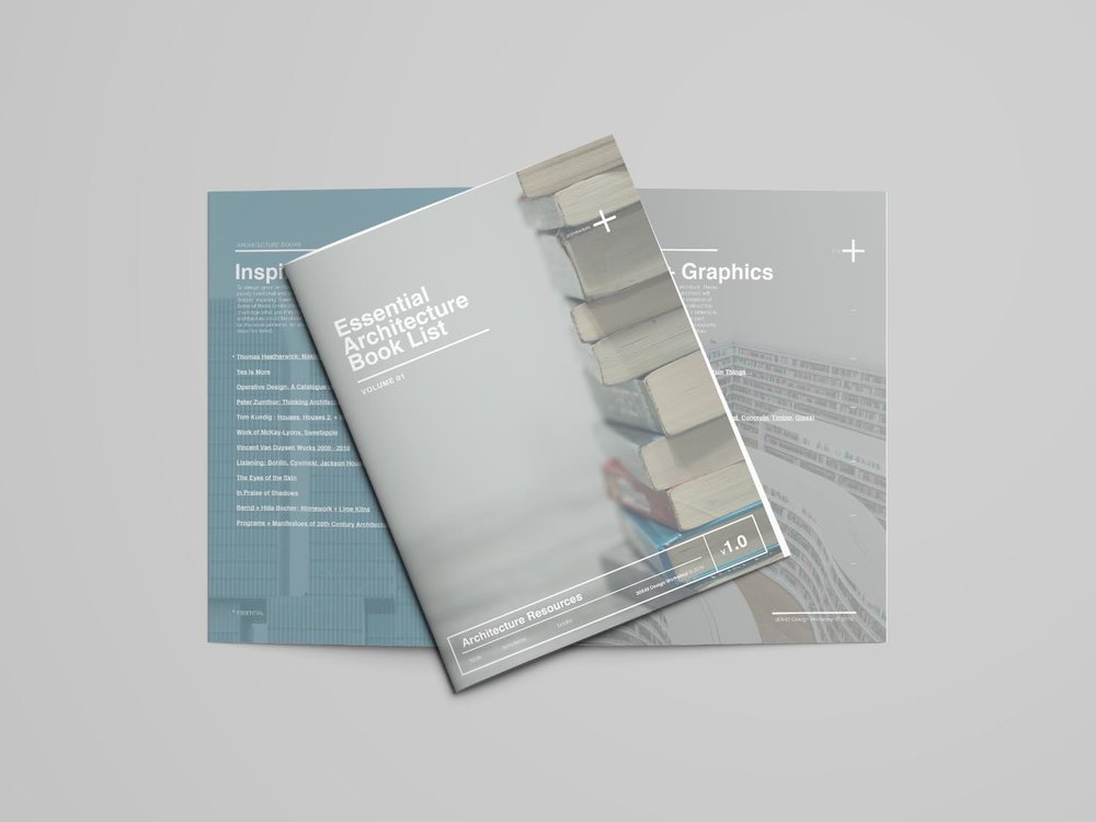 Essential Architecture Book List - v1.0  (Download the 6 page PDF)