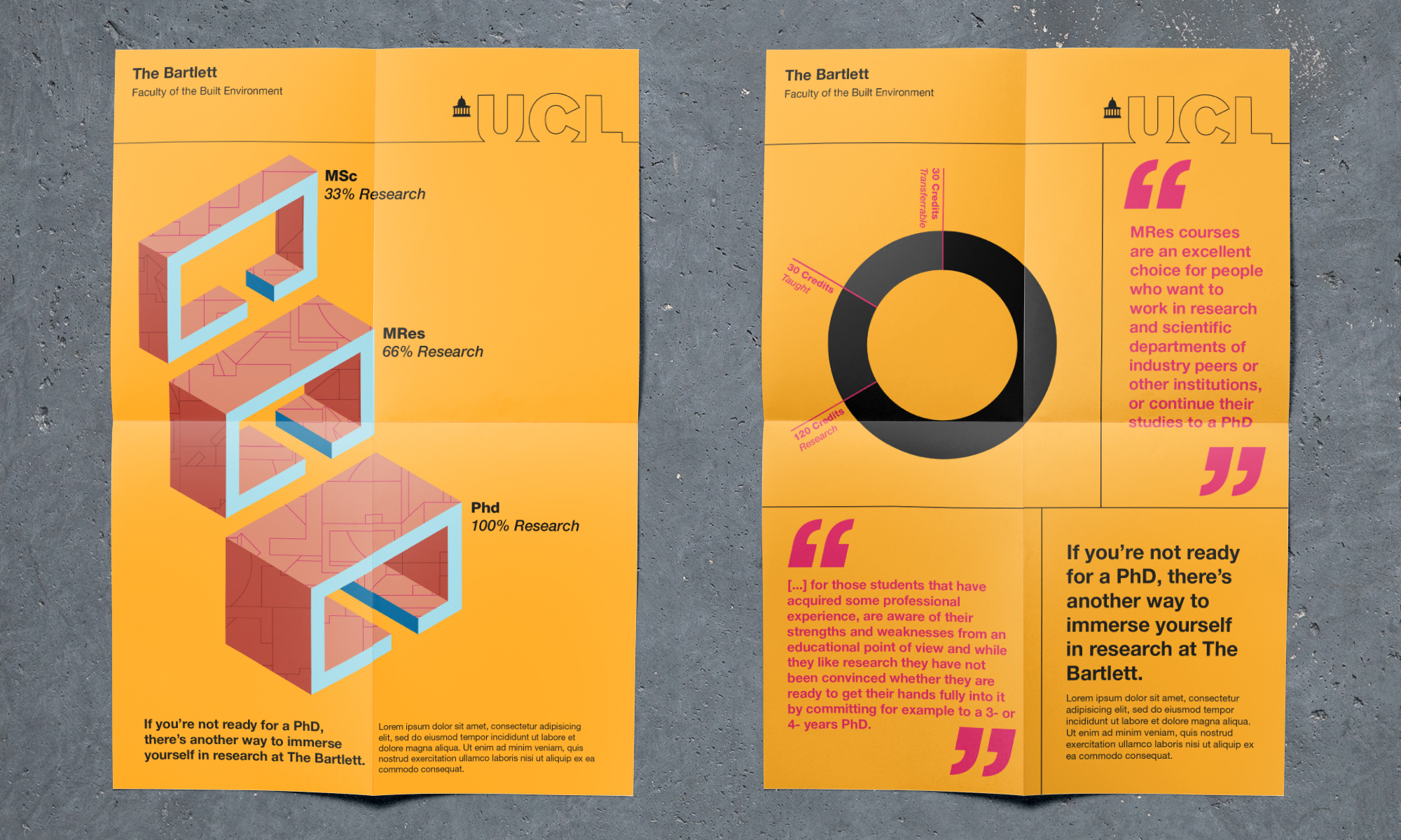 Design poster yourself - Ucl Bartlett Poster Gif Design