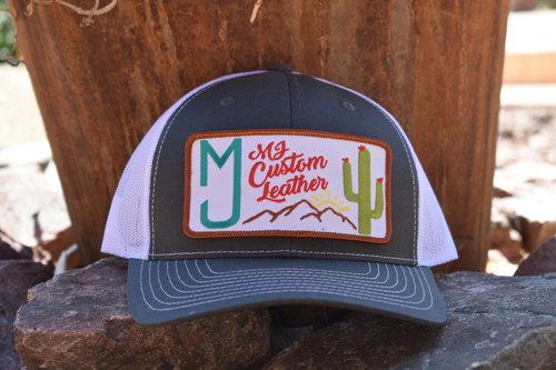 MJ Custom Leather Logo Hat(Snap Back) — MJ Custom Leather bf638afa12c