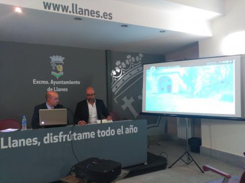 Rueda de Prensa. Ayuntamiento de Llanes