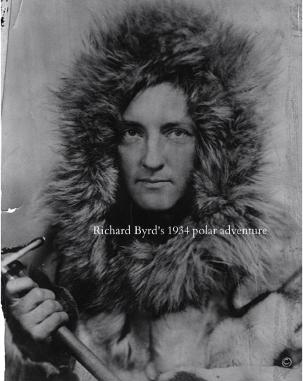 Admiral Richard Byrd in Know the Night by Maria Mutch