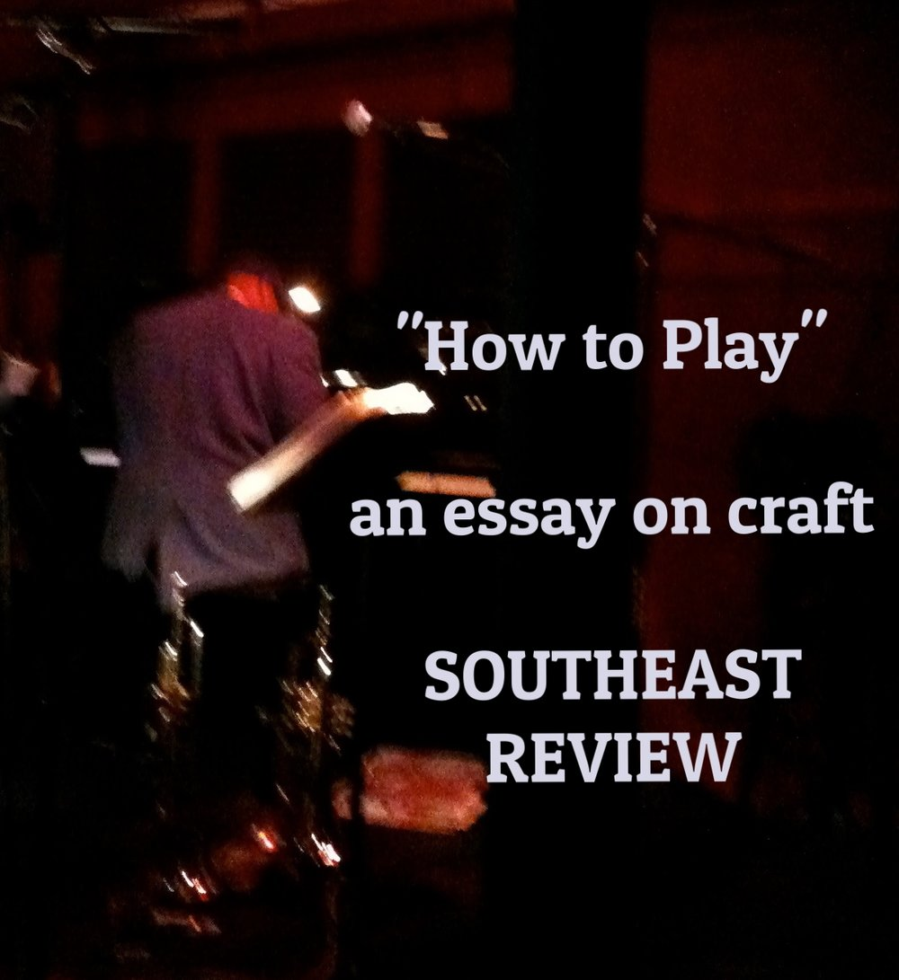 southeast review essay Maria Mutch