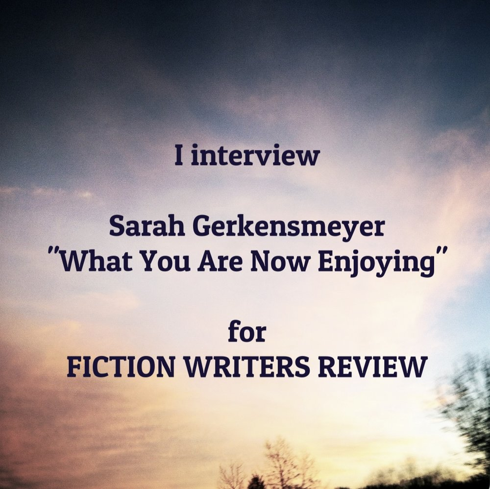 fiction writers review sarah gerkensmeyer maria mutch