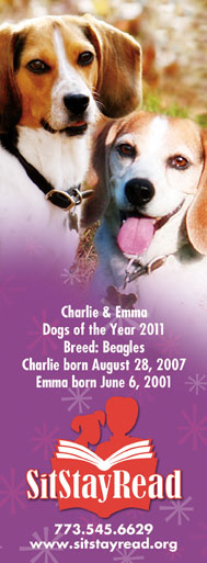 Charlie & Emma, Dogs of the year 2011