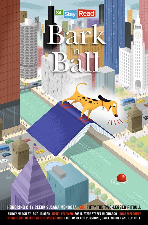2015 Bark 'n Ball Poster