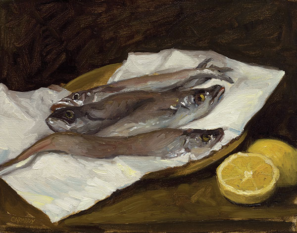 Whiting with Lemon
