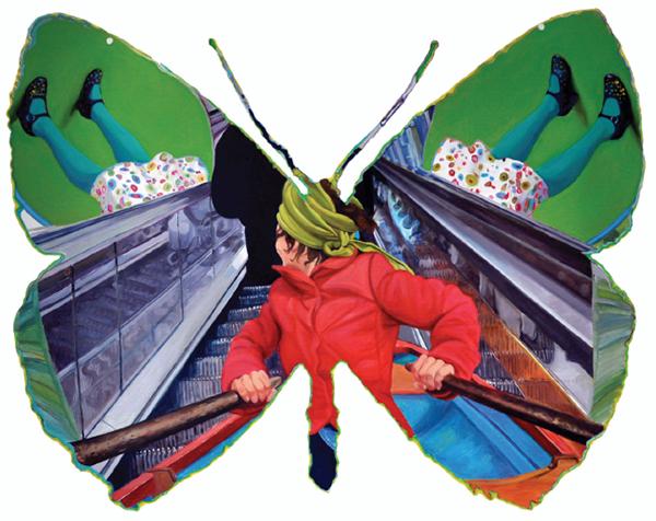 Papilio Fluctuat, ou papillon de la parisienne