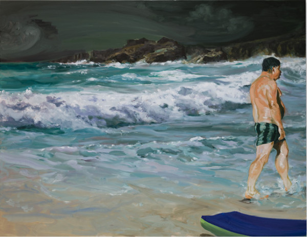 Scenes From Late Paradise: Stupidity, 2007 Oil on linen 84 x 108 inches