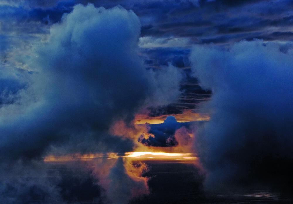Aerial Cloudscape Southampton 6.18.14 141