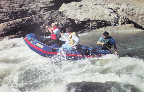 Vermillion River Rafting