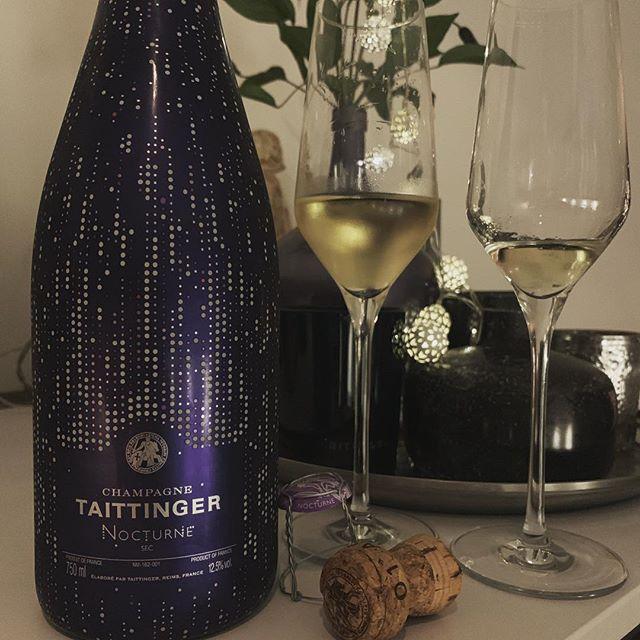 Laatste van 2018 🙏. Happy New Year #2019 nog een paar flesjes #taittingerchampagne ❤️