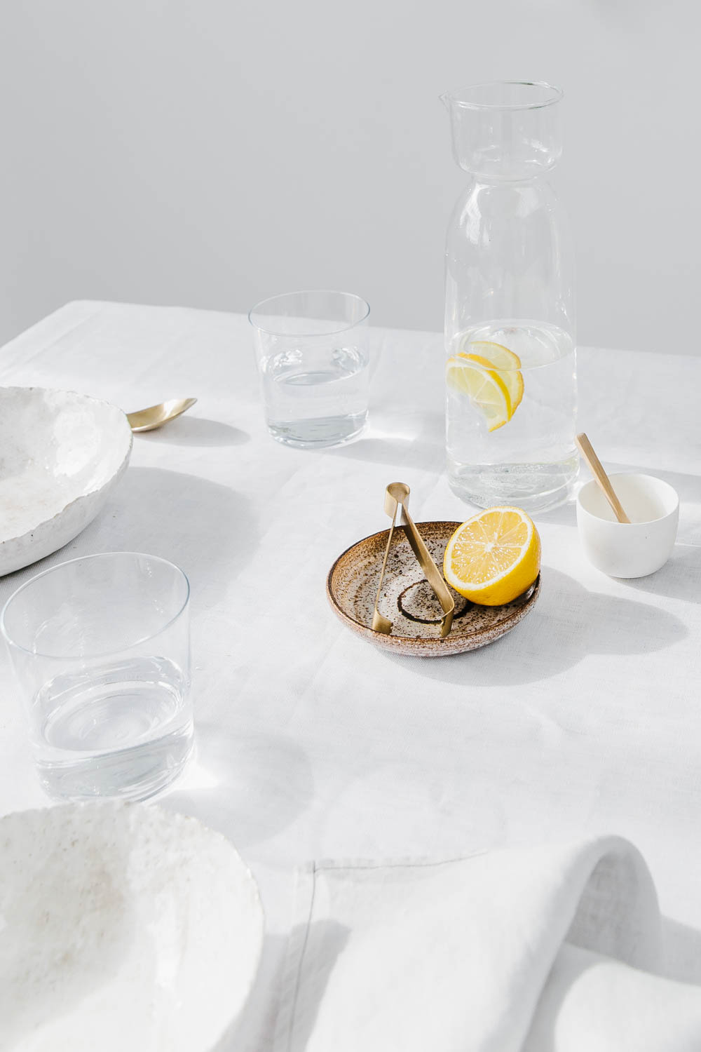 Table With Lemon