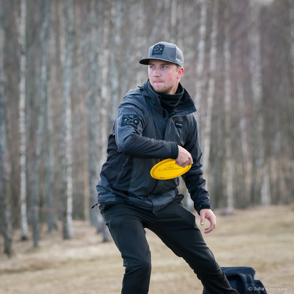 Seppo Paju, Finnish Disc Golf Champion.