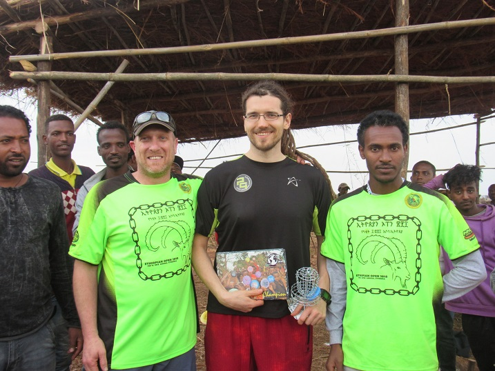 Tapani Aulu won the first ever PDGA sanctioned event in Africa.