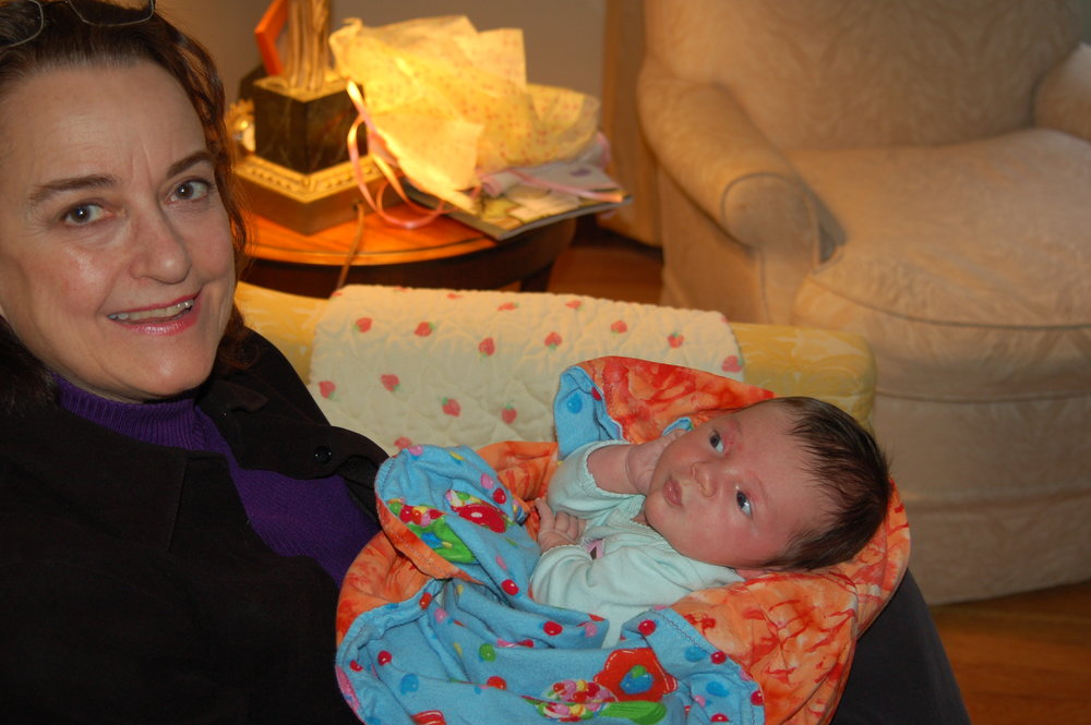 Beth with Baby Sylvia