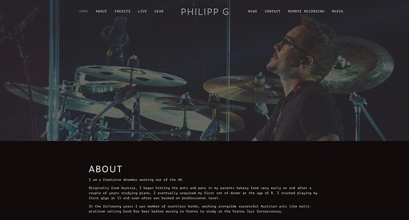 natalie-opocensky-digitalnomadin-projekte-philippg-drummer-squarespace-webdesign