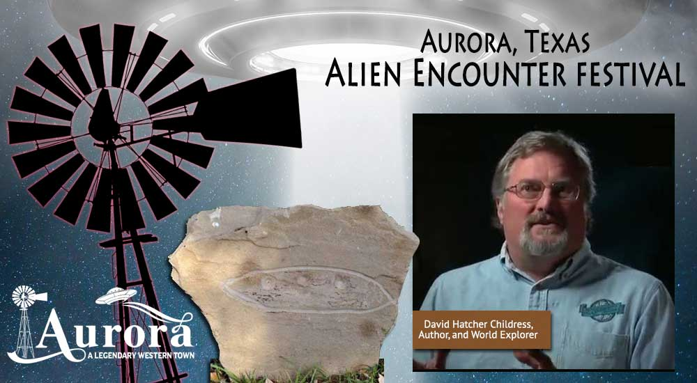 (Handout) David Childress of 'Ancient Aliens' is also a respected explorer.