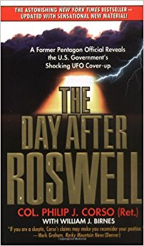 The book offers a look into the cover-up and aftermath of Roswell. (Handout)