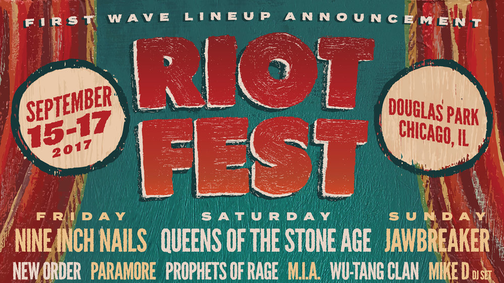 Riot Fest 2017  includes Queens Of The Stone Age and Prophets Of Rage.(Handout)