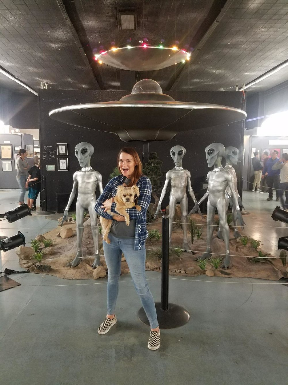 Amy Dumas is into veganisn, punk rock, atttoos and UFOs. Right at home on this site! . (Amy Dumas)