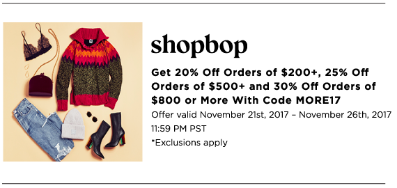 Melanie Sutrathada shares her must-shop Cyber Monday sales this holiday season. Make sure to shop ShopBop!.png