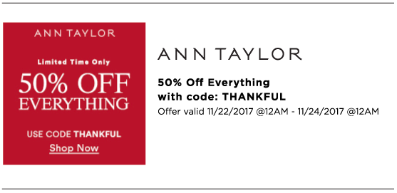 Melanie Sutrathada shares her must-shop Cyber Monday sales this holiday season. Make sure to shop Ann Taylor!.png