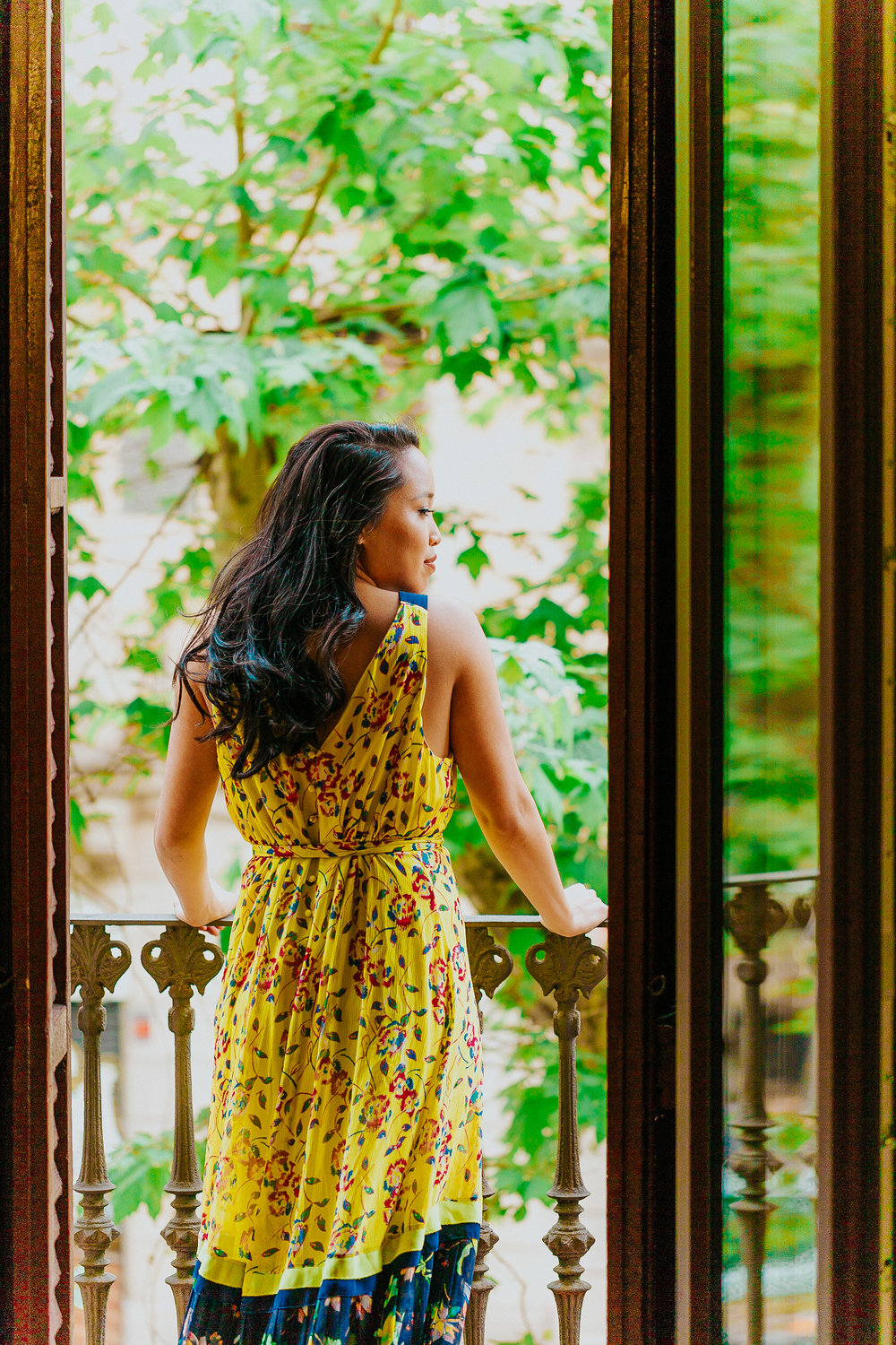 Melanie Sutrathada shares her favorite yellow dresse to rock this spring and summer..jpg