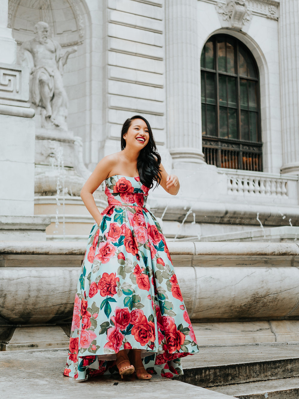 Melanie Sutrathada shares her favorite tips and tricks for picking the perfect dress this summer with the help of the ever-amazing David's Bridal..jpg
