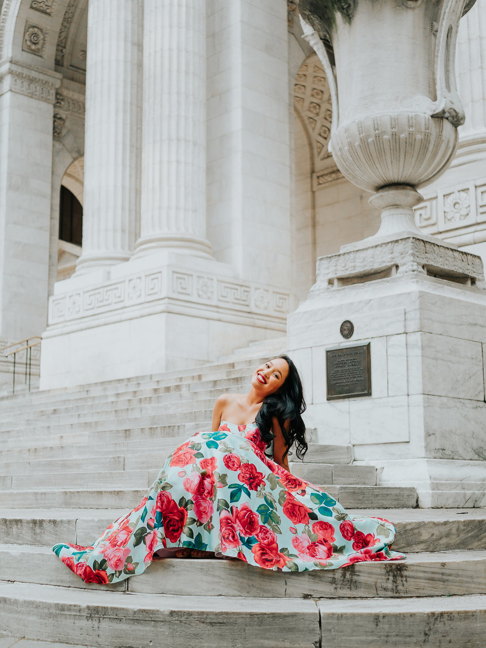 Melanie Sutrathada shares her favorite tips and tricks for picking the perfect dress this summer with the amazing help of David's Bridal..jpg