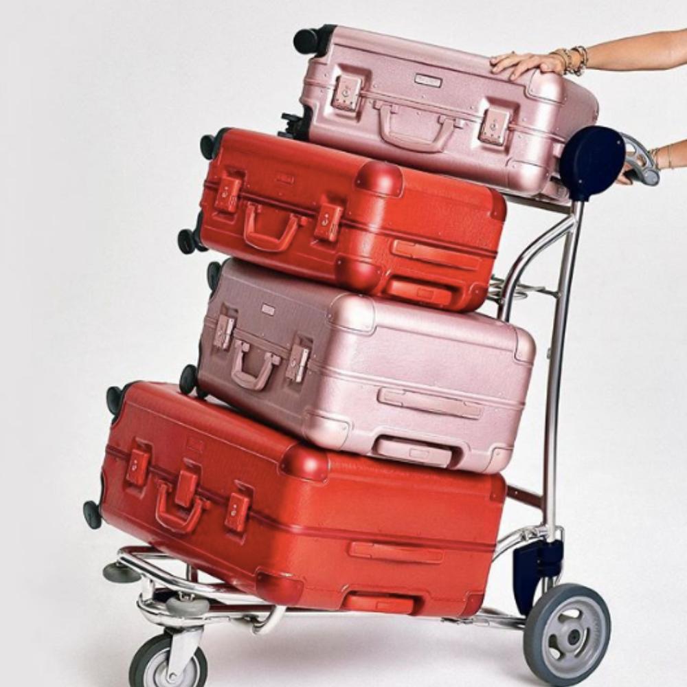 CALPACK x Jen Atkin Suitcases
