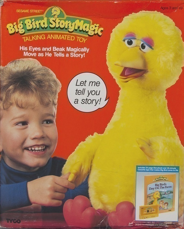 Big Bird Story Magic