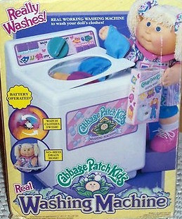 Cabbage Patch Washing Machine