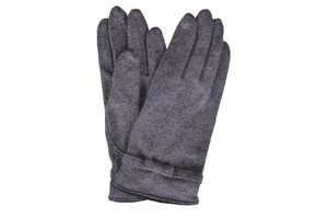 5df0e73e0 Italian Grey Jersey Wool Gloves Italian Grey Wool Gloves for Women | Bags &  Arts. sale